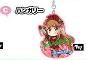 main photo of Hetalia Axis Powers Cleaner Mascot Straps: Hungary