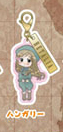 main photo of Axis Powers Hetalia Metal Charm Collection A: Hungary