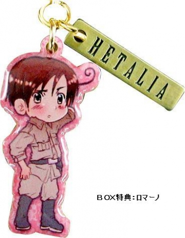 main photo of Axis Powers Hetalia Metal Charm Collection A: Southern Italy (Romano)