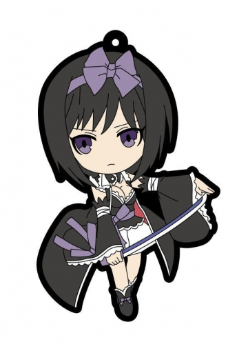 main photo of Shining Blade Rubber Keychain: Yukihime