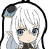 Shining Blade Rubber Keychain: Altina Mel Sylphis