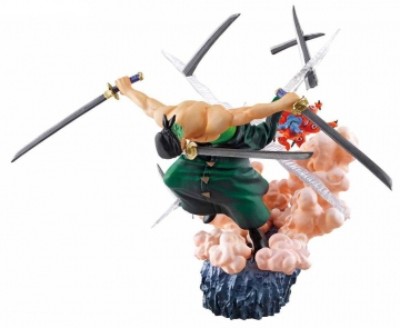 main photo of ONE PIECE Log Box Sorezore no Seichou Hen: Roronoa Zoro VS Hyouzou