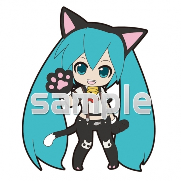 main photo of Pic-Lil! -Project DIVA- Trading Strap Track 03: Hatsune Miku Nyanko Ver.