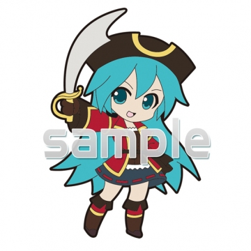 main photo of Pic-Lil! -Project DIVA- Trading Strap Track 03: Hatsune Miku Pirate Ver.