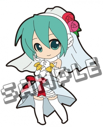 main photo of Pic-Lil! -Project DIVA- Trading Strap Track 02: Hatsune Miku White Dress Ver.