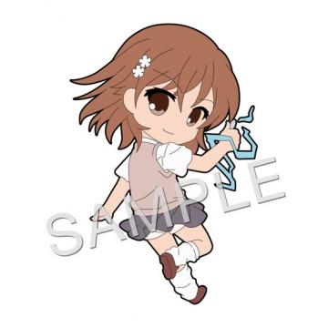main photo of Pic-Lil! Toaru Majutsu no Index the Movie: Endymion no Kiseki Trading Strap: Misaka Mikoto