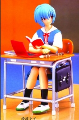 main photo of Ayanami Rei Study Time Ver.