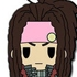D4 Series DRAMAtical Murder Rubber Strap Collection: Mink