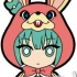 Pic-Lil! Hatsune Miku Rubber Strap #06: Hatsune Miku LOL -lots of laugh- Ver.