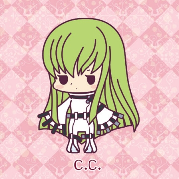 main photo of Rubber Strap Collection Code Geass Hangyaku no Lelouch Stage 1: C.C.