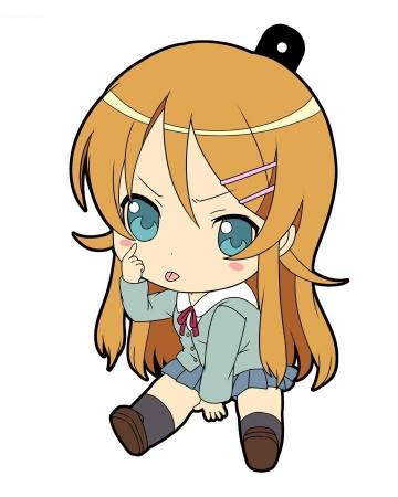 main photo of Oreimo Petanko Trading Rubber Strap Vol.2: Kousaka Kirino Uniform Ver.