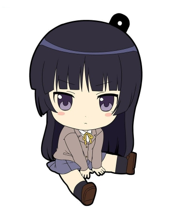 main photo of Oreimo Petanko Trading Rubber Strap Vol.2: Gokou Ruri Uniform Ver.