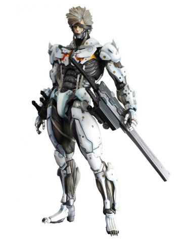 main photo of Play Arts Kai Raiden White Armour Ver.
