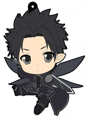 main photo of Petanko SAO Trading Rubber Strap Fairy Dance Arc: Kirito (Kirigaya Kazuto)