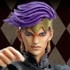 Super Action Statue Rohan Kishibe Ver.2 Black