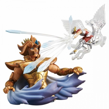 main photo of Diorama Box Collection Saint Seiya ~Golden Zodiac Arc~: Leo Aiolia