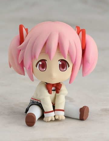 main photo of Petanko Mini!: Madoka Magica Trading Figures: Kaname Madoka School Uniform Ver.