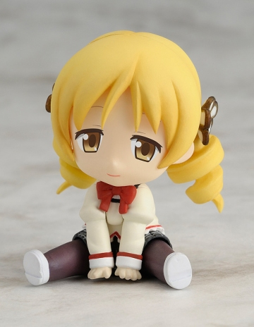 main photo of Petanko Mini!: Madoka Magica Trading Figures: Tomoe Mami School Uniform Ver.