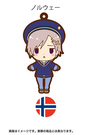 main photo of es Series Rubber Strap Collection Hetalia Part 2: Norway