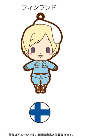 main photo of es Series Rubber Strap Collection Hetalia Part 2: Finland