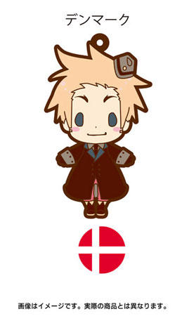 main photo of es Series Rubber Strap Collection Hetalia Part 2: Denmark