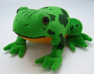 main photo of Press It With Fist and It Will Cry Memetaa! Frog Plushie