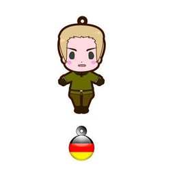 main photo of es Series Rubber Strap Collection Hetalia Part 1: Germany
