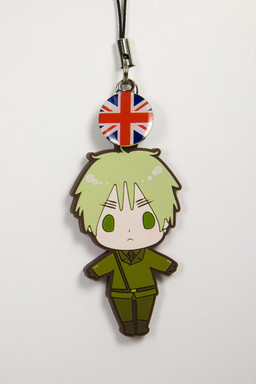 main photo of es Series Rubber Strap Collection Hetalia Part 1: England