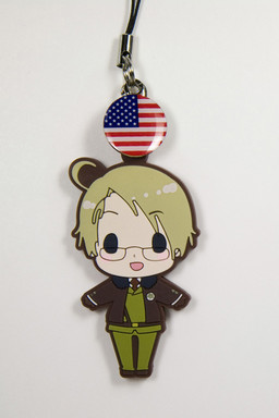 main photo of es Series Rubber Strap Collection Hetalia Part 1: America