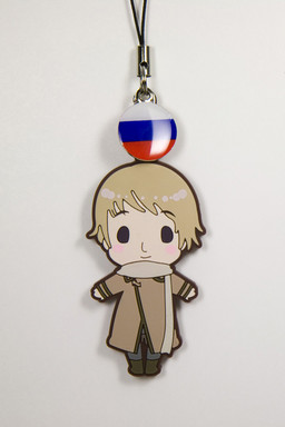 main photo of es Series Rubber Strap Collection Hetalia Part 1: Russia