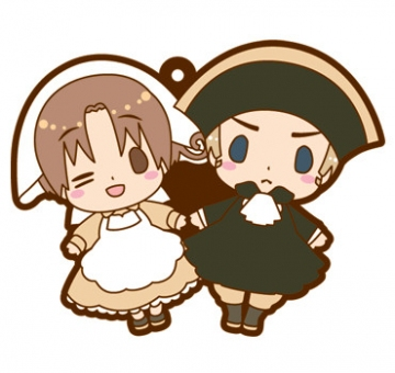 main photo of es Series Rubber Strap Collection Hetalia Part 3: Shinsei Roma & Chibitalia