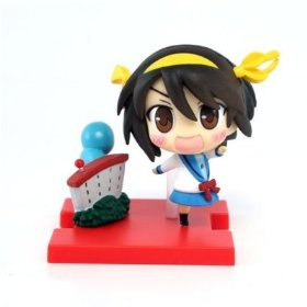 main photo of The Melancholy of Haruhi Suzumiya Vignetteum Cute Vol. 1: Suzumiya Haruhi