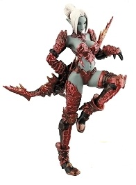 main photo of SR Lineage II Figure Collection Ver.1: Dark Elf Draconic Lazer Armor ver.