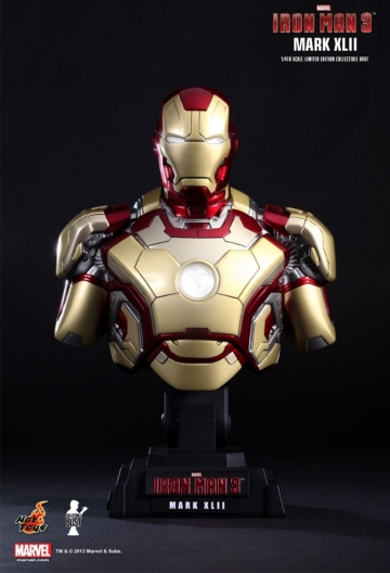 main photo of Iron Man Mark 42 Bust