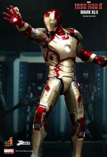main photo of Power Pose Iron Man 3 Mark 42