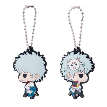 main photo of Gintama W Rubber Macot: Sakata Gintoki