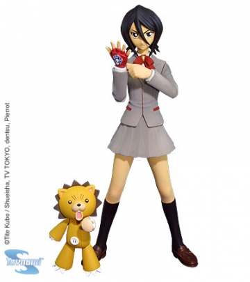 main photo of Bleach Action Figure Series 1 Rukia & Kon