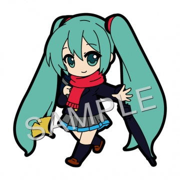 main photo of Pic-Lil! Hatsune Miku Rubber Strap #05: Hatsune Miku Traveling Mood Ver.