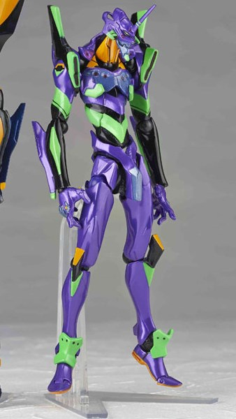 main photo of Revoltech Yamaguchi Series EVA-01 Metallic Color Ver.