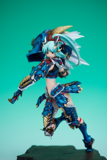 main photo of Hunter Zinogre Armor with Thunder King Hammer Ver.