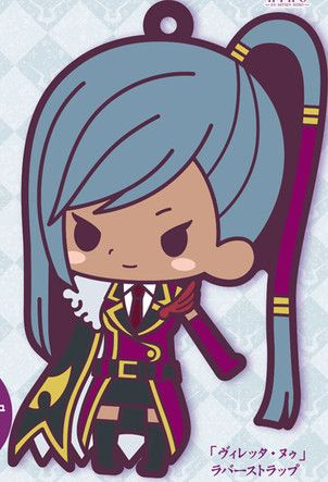 main photo of Rubber Strap Collection Code Geass Hangyaku no Lelouch Stage 2: Villetta Nu