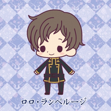 main photo of Rubber Strap Collection Code Geass Hangyaku no Lelouch Stage 2: Rolo Lamperouge
