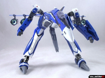 main photo of DX Chogokin VF-25 Messiah Valkyrie Gallia 4 Fold Set