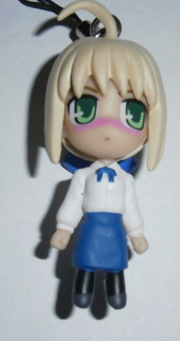 main photo of Fate Swing: Saber Dere Face Ver.