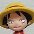 Anime Heroes ONE PIECE Vol.5 Ennis Lobby Arc: Luffy (childhood)