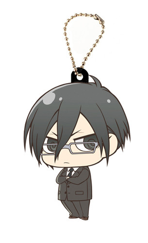 main photo of Psycho-Pass Rubber Keychain: Ginoza Nobuchika