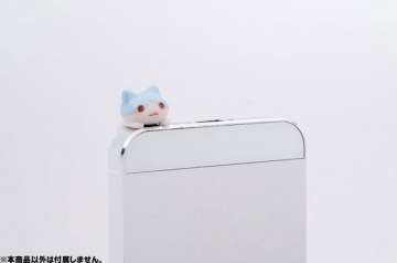 main photo of Pastel Color Nyanko Earphone Jack:Pastel Blue ver.Hanging
