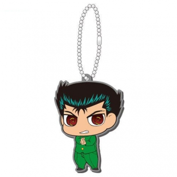 main photo of Yu Yu Hakusho Rubber Mascot Vol.1 ~Urameshi Team~: Urameshi Yuusuke