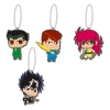 photo of Yu Yu Hakusho Rubber Mascot Vol.1 ~Urameshi Team~: Hiei