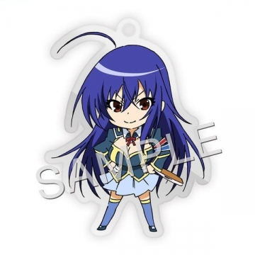 main photo of Medaka Box Fastener Charm Collection: Kurokami Medaka
